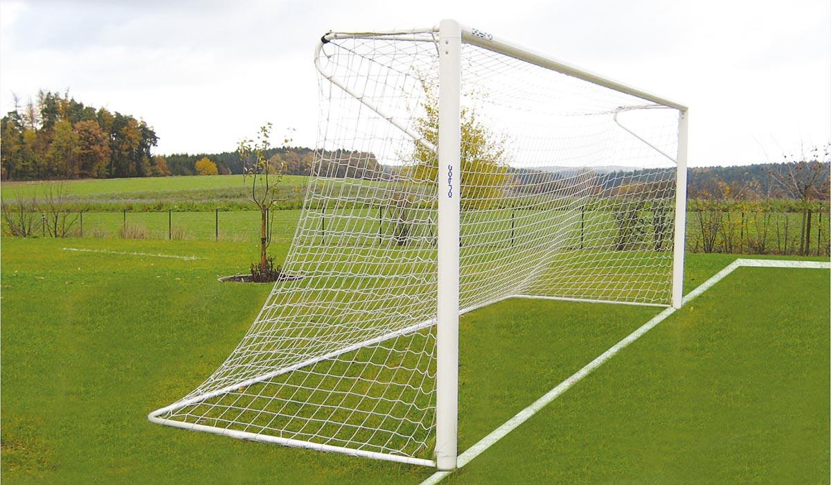Fußballtor Feststehend mit Netzbügel